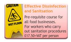 Effective Disinfection and Sanitisation