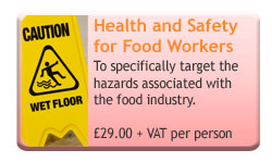 Health and Safety for Food Workers Online Course
