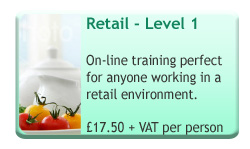 Food Safety Level 1 Retail Online Course