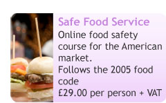 Safe Food Service (American) Online Course