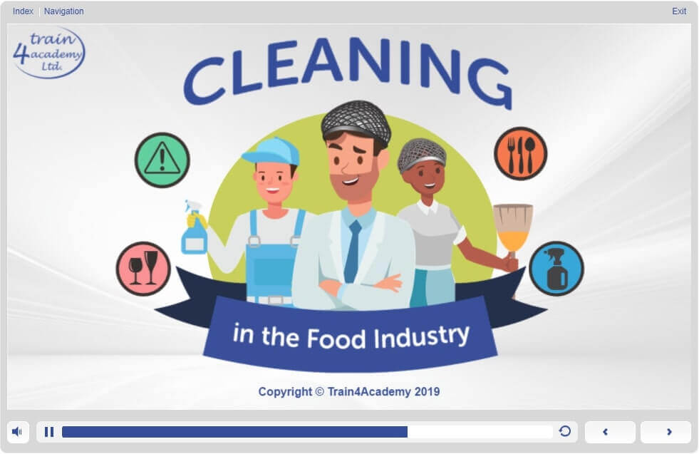 Cleaning in the Food Industry - Module 1 - Screen 1.1