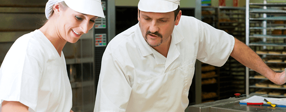 Train your staff to level 3 in supervising food safety