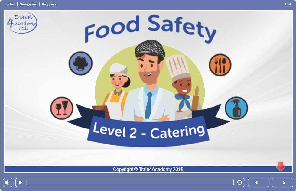 Module 1, Screen 1.1 - Food Hygiene Course for Catering